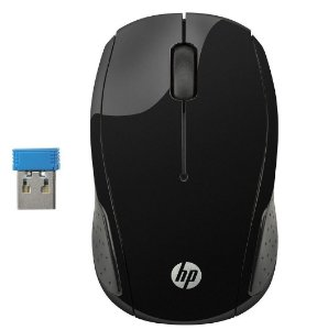 Mouse Optico Sem Fio HP 200 Souris Sans H16459