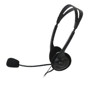 Headset Voicer Light CT-662040BK C3Tech
