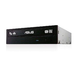 Drive Gravador e Leitor de CD/DVD, SATA, 24X, Preto - DRW-24F1MT/BLK/B/AS ASUS