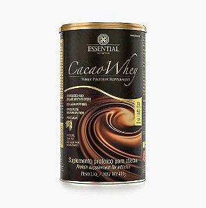 Cacau Whey 450g Whey Protein Hidrolisado e Isolado com Cacau Gourmet