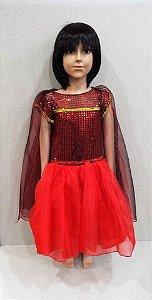 Fantasia Elena infantil tam: 02/04/06/08/10/12/14/16