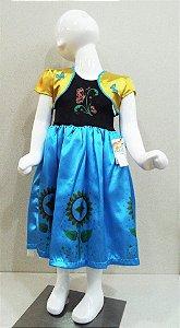 Fantasia Ana Frozen Infantil Tam: P