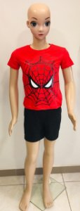 Camiseta Homem Aranha Infantil  Tam:2