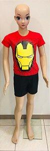 Camiseta Homem de Ferro tam:2