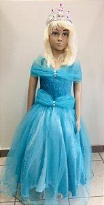 Fantasia Cinderela Infantil Tam:G