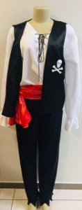 Fantasia Pirata Adulto Tam: G