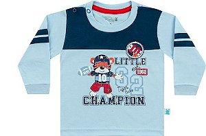 Camiseta Bebê Manga Longa Tiger Baby Kiko e Kika