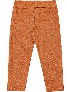 Calça Legging Infantil Menina Molecotton Jeans Kiko e Kika