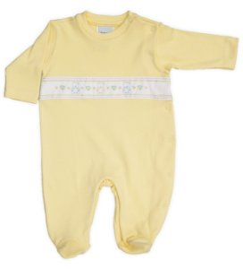 Macacão Bebê Maternidade Ursinho Coração Suedine Baby Fashion