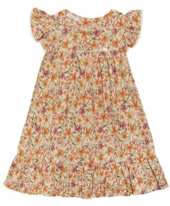 Vestido Infantil Flowers Summer Anuska