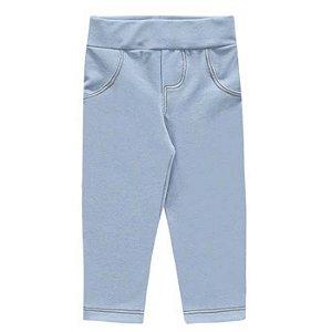 Calça Bebê Legging Molecotton Jeans Claro Kiko e Kika