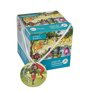 Brinquedos Educativos Folclore Brasileiro Jogo da Memória 24 peças