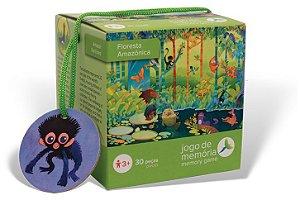 Brinquedo Educativo Floresta Amazônica Jogo da Memória 30 peças