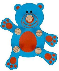 Brinquedo Educativo Gire e Crie Animais Ursinho