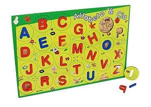 Brinquedo Educativo Alfabeto & Cia