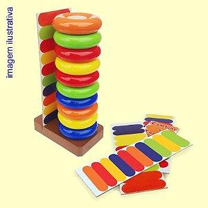 Brinquedo Educativo de Combine e Encaixe