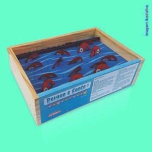 Brinquedo Educativo Pesque e Conte