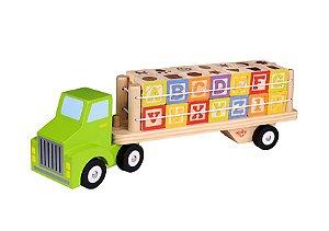 Brinquedo Educativo Caminhão Alfabeto