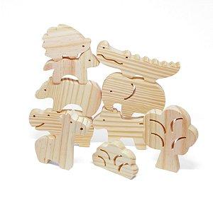 Brinquedo Educativo Animais da Selva | Pachu