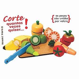 Kit Frutas e verduras com corte