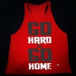 Camiseta Cavada Go Hard or Go Home