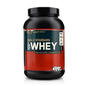 Optimum Gold Standard 100% Whey  Chocolate duplo, 907 Grams