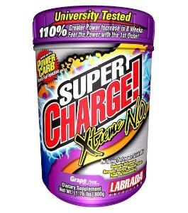 Labrada Super Charge! Xtreme 4.0 Grape, 800 Grams