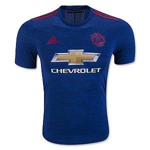 Camisa oficial Adidas Manchester United 2016 2017 II jogador