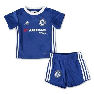 Kit infantil oficial adidas Chelsea 2016 2017 I jogador