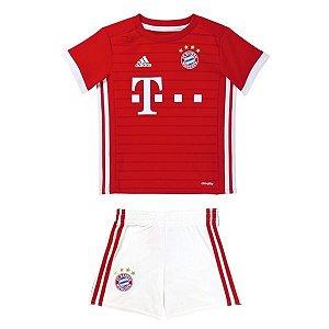 Kit infantil oficial Adidas Bayern de Munique 2016 2017 I jogador
