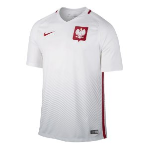 Camisa oficial Nike Seleção da Polonia Euro 2016 I jogador