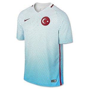 Camisa oficial Nike Seleção da Turquia Euro 2016 II jogador