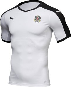 Camisa oficial Puma seleção da Austria Euro 2016 II jogador