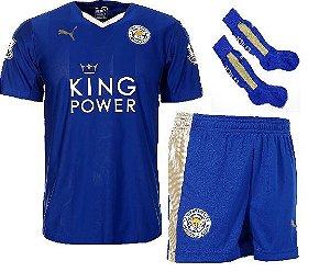 Kit oficial Puma Leicester city 2015 2016 I jogador