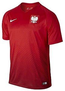 Camisa oficial Nike Seleção da Polonia Euro 2016 II jogador