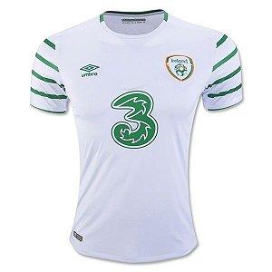 Camisa oficial Umbro seleção da Irlanda Euro 2016 II jogador