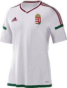 Camisa oficial adidas seleção da Hungria Euro 2016 II jogador