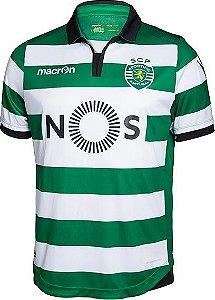Camisa oficial Macron Sporting Lisboa 2016 2017 I jogador