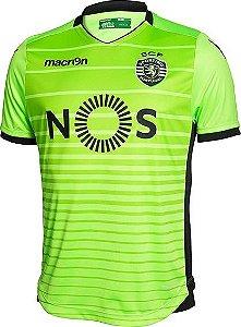 Camisa oficial Macron Sporting Lisboa 2016 2017 III jogador