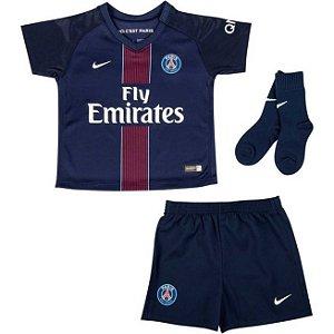 Kit oficial infantil Nike PSG 2016 2017 I jogador