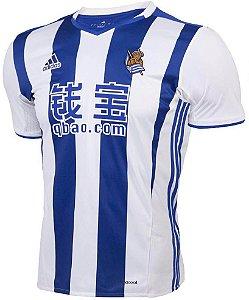 Camisa oficial adidas Real Sociedad 2016 2017 I jogador