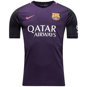 Camisa oficial Nike Barcelona 2016 2017 II jogador