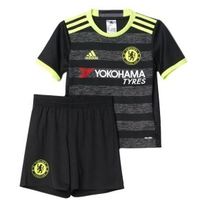 Kit infantil oficial adidas Chelsea 2016 2017 II jogador