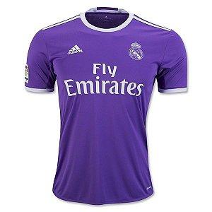 Camisa oficial Adidas Real Madrid 2016 2017 II jogador