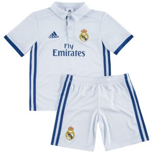 Kit infantil oficial Adidas Real Madrid 2016 2017 I jogador