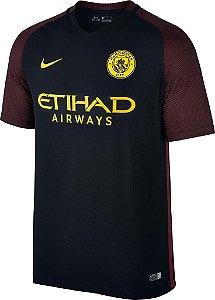 Camisa oficial Nike Manchester City 2016 2017 II jogador