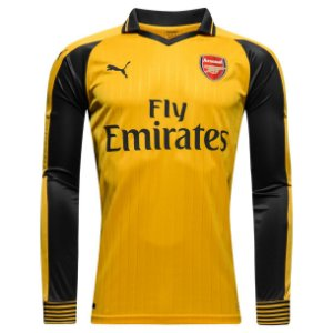 Camisa oficial Puma Arsenal 2016 2017 II jogador manga comprida
