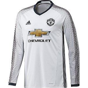 Camisa oficial Adidas Manchester United 2016 2017 III jogador manga comprida