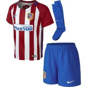 Kit oficial infantil Nike Atlético de Madrid 2016 2017 I jogador