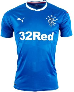 Camisa oficial Puma Glasgow Rangers 2016 2017 I jogador